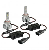 12V-24V Halo Led Serie 7 Compact -H10-HB3 9005-36V -6500K-6000lm,coppia lampade