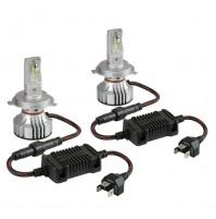 12V-24V Halo Led Serie 7 Compact -H4,36V -6500K-6000lm,2 lampade
