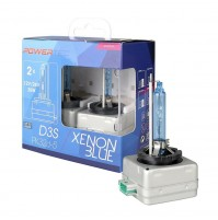 2 LAMPADE ALLO XENON D3S,SERIE SPECIALE Powertec Xenon Blue D3S DUO-6500K