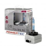 2 LAMPADE XENON A RICAMBIO D1S Powertec Platinum +130% 5000K,D1S DUO