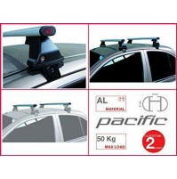 2x BARRE PORTATUTTO PER CITROEN C4 GRAND SPACETOURER DAL 2013 G3 KIT ACCIAIO