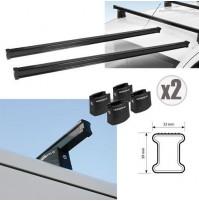 2x BARRE PORTATUTTO PER FIAT SCUDO corto/lungo standard (07-16) NORDRIVE 150 cm