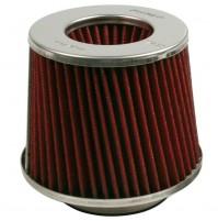 5Filtro aria sportivo conico,doppio cono,L155xH152,misura imbocco,da 60 a 90mm