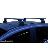 BARRE PORTATUTTO COMPLETE FIAT 500 L, LIVING DAL 2013, KIT IN ACCIAIO