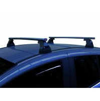 BARRE PORTATUTTO COMPLETE FIAT MULTIPLA ,KIT IN ALLUMINIO CON SERRATURA