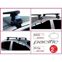 BARRE PORTATUTTO COMPLETE G3 FIAT FULLBACK 4 P. DAL 2016 NO RAILS KIT IN ACCIAIO
