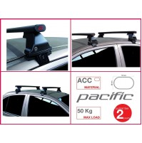 BARRE PORTATUTTO COMPLETE G3 OPEL ASTRA K SPORT TOURER RAILS 2016 KIT IN ACCIAIO