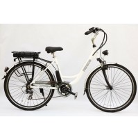 BICICLETTA ELETTRICA ECOPED STREET MOTORE CENTRALE 250W,SHIMANO 7 SPEED, NEW