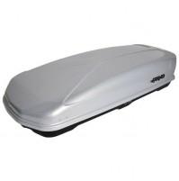 BOX da tetto Baule portapacchi FARAD KORAL 480L grigio metallizzato 190x80x40