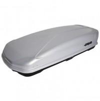 BOX tetto Baule portapacchi FARAD KORAL 400L grigio metallizzato,misura160x80x40