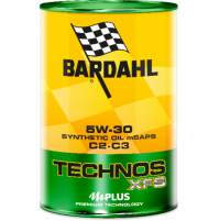 Bardahl Technos TECHNOS XFS C2 C3, Olio Sintetico 1L Premium Technology mid SAPS