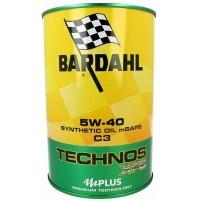 Bardahl Technos XFS C3 5W-40 Olio Sintetico 1L Premium Technology mid SAPS