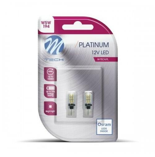 COPPIA LAMPADE A LED CAMBUS W5W TUTTO VETRO L801W W5W 20 SMD 3014, 12V bianco