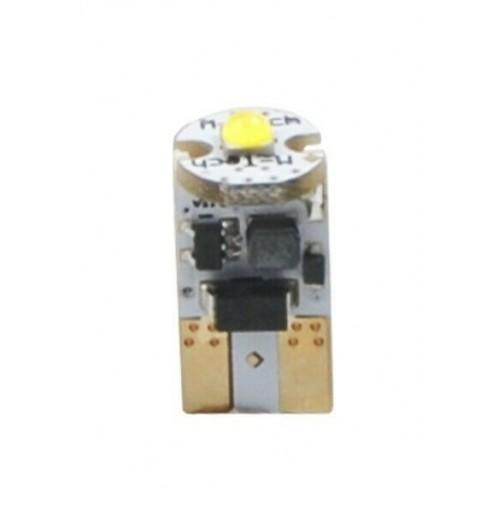 COPPIA LAMPADE A LED CREE CAMBUS W5W TUTTO VETRO L805W W5W 1xHP LED 12V bianco