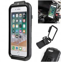 CUSTODIA DA MOTO PER APPLE IPHONE 6/6S/7/8 CON SUPPORTO A SCELTA LAMPA OPTI CASE