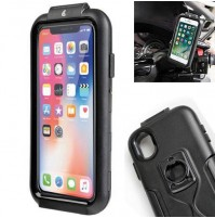 CUSTODIA DA MOTO PER APPLE IPHONE X CON SUPPORTO A SCELTA