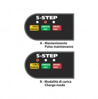 Caricabatteria intelligente,Amperomatic Trainer, 6/12V - 0,55/1A,acido,gel agm