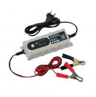 Caricabatteria intelligente,Amperomatic,6/12V, per batterie AGM,ACIDO,GEL,4.2Amp