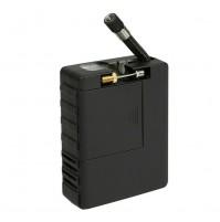 Compressore tascabile a batterie 8 pile stilo AA,con torcia a led con adattatori