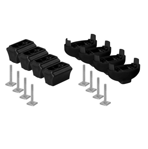 Extension kit distanziali SOLO PER I PORTASCI NORDRIVE NORDIC-KING E PRO-SLIDER