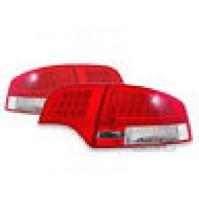 FANALI POSTERIORI A LED AUDI A4 BERLINA B7 ROSSO /CROMATO