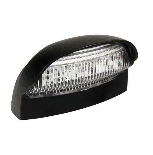 Fanale a led smd, illuminazione targa, 10/3, per carrelli rimorchi, roulotte,ecc