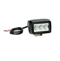 Faro ausiliario 3 LED CREE10/30V Luce focalizzata Bianco per moto,auto,12w-6000k