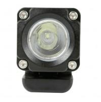 Faro ausiliario a 1 Led  9/32V Luce focalizzata Bianco per moto,auto, 10w-6000k