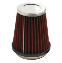 Filtro aria sportivo conico, misure,L122xH150,misura imbocco,da 60 a 90mm