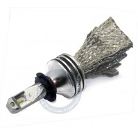 KIT CONVERSIONE A LED H7,12V,20W,4200Lm,5000K,CHIP PHILIPS,CANBUS