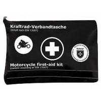 Kit pronto soccorso per moto conforme alla norma europea DIN 13167,obbligatorio