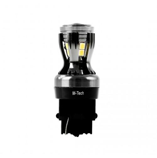 LAMPADA A LED 6000K -3156-W27- W2.5x15q -BILUCE ATTACCO T20 WEDGE- 12-24V
