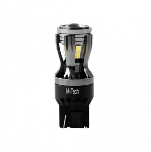 LAMPADA A LED 6000K -L822W T20-W21W-MONOLUCE ATTACCO T20 WEDGE-W3x16d- 12-24V