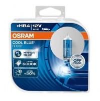 LAMPADE HB4 OSRAM COOL BLUE BOOST + 5000K,ESTREMAMENTE BIANCO EFFETTO XENON +50%