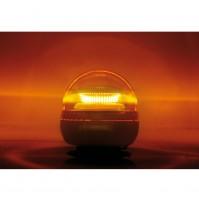 LAMPEGGIANTE,LAMPEGGIATORE,lampada emergenza luce rotante a led- ricaricabile