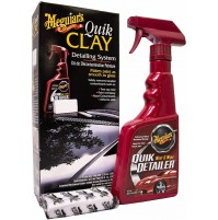 MEGUIAR'S QUIK Clay Kit G1116EU Kit per ricondizionamento Vernice