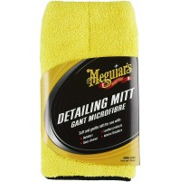 MEGUIAR'S X1804EU Guanto Detailing, Yellow