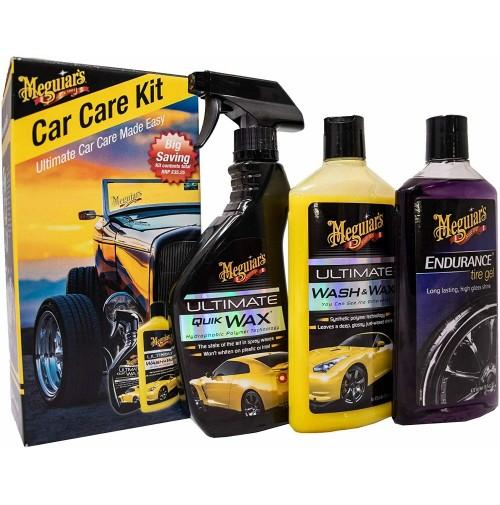 Meguiar's CCK Shampoo & cera Ultimate,Ultimate Quik Wax+Endurance HighGloss tire