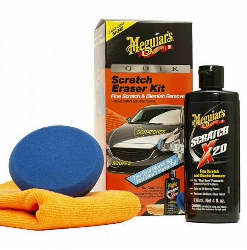 Meguiar's Car Care G190200EU Kit rimozione Rapida Graffi QUIK SCRATCH ERASER KIT
