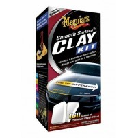 Meguiar's KIT SMOOTH SURFACE CLAY KIT, G-1010,kit ricondizionamento carrozzeria