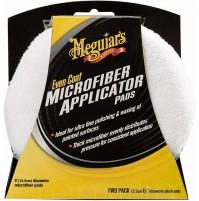 Meguiar's X3080EU Dischi in Microfibra tondi, Bianco,