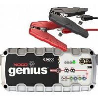 Noco G26000EU Genius Caricabatteria 26 Ampp, 12V-24V, piombo acido,litio