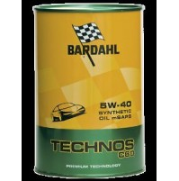 OLIO MOTORE BARDAHL TECHNOS C60, 5W-40 SYNTHETIC OIL M SAPS, 1 LITRO
