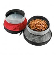 Pet Bowl ciotola da viaggio per animali 2 in 1,1100+1400 ml,multi utilizzo