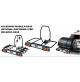 Piattaforma di carico per gancio di traino MODULA-CRUZ- ReCargo BASE,MIS. 116X89