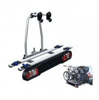Portabici da gancio RACE 2 MENABO' acciaio+alluminio trasporta 2 bici basculante