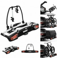 Portabici inclinabile gancio traino THULE VELOSPACE XT 2 bici 938