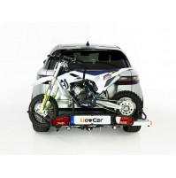 Portamoto da gancio traino,TowCar Balance,Trial,Minicross,Scooter 75Kg,omologato