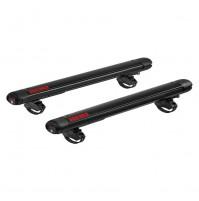 Portasci per barre da tetto YAKIMA mod.FatCat 6 Evo black, 6 p. di sci o 4 snow.