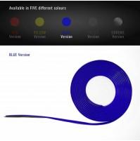 Profilo Adesivo per Auto-Moto-Bici con Biadesivo 3M msura 300X3 mm,colore BLU